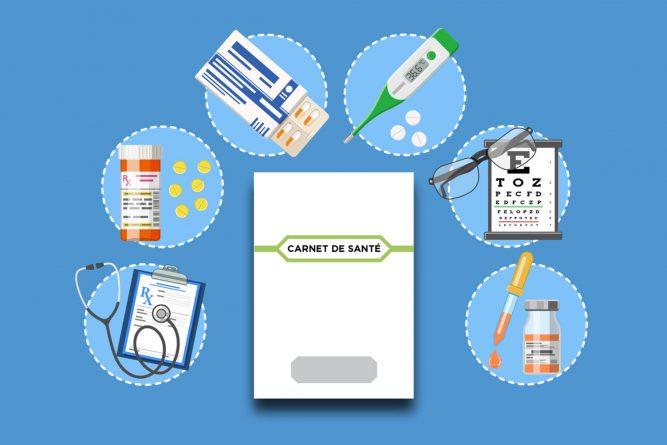 nouveau modèle de carnet de santé